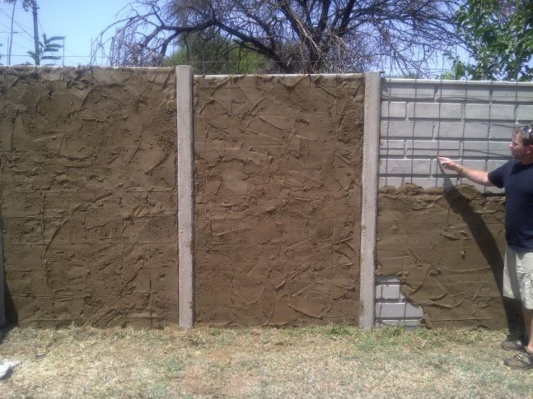 Precast Wall In Progress