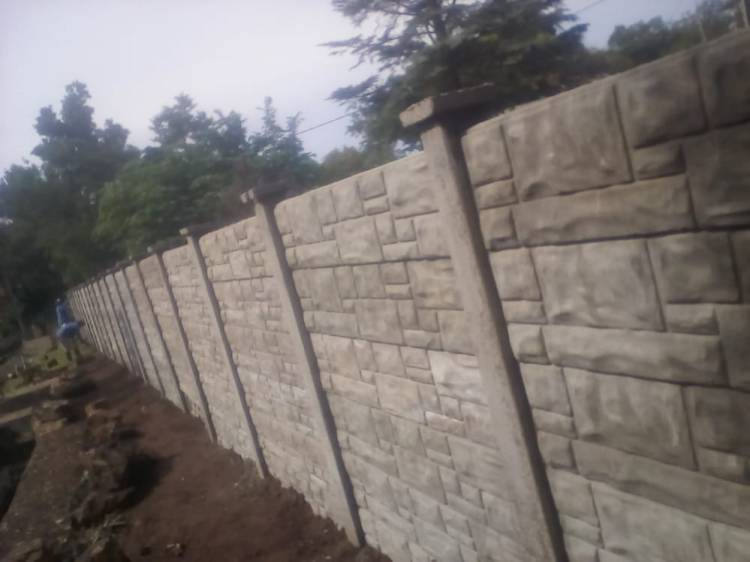 Crete and Plaster and Security Walls