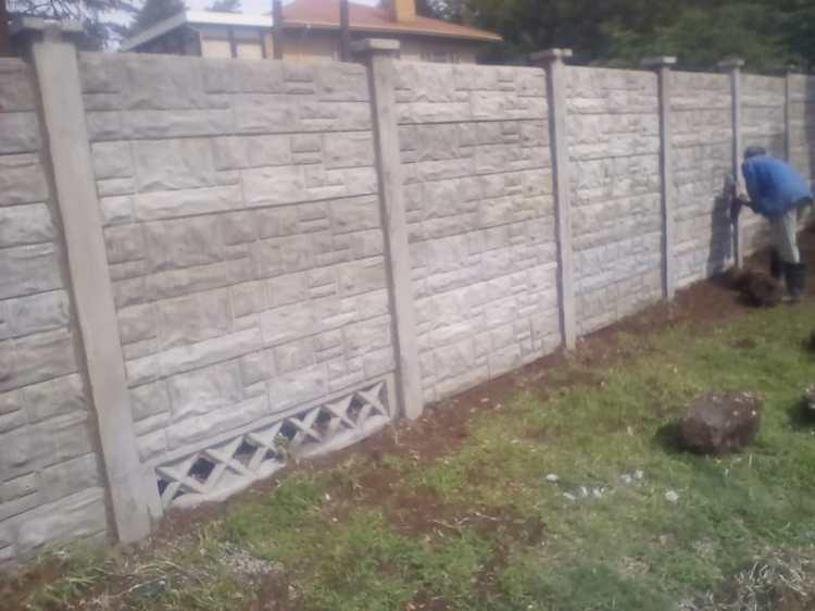 Precast Wall in Progress 2