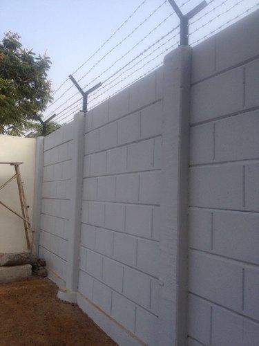 Precast Boundary Security Wall